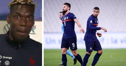 Paul Pogba weighs in on Kylian Mbappe's huge spat with Olivier Giroud