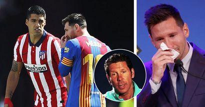 Simeone: 'Le dije a Suárez que le preguntara a Messi si estaba dispuesto a fichar por el Atlético'
