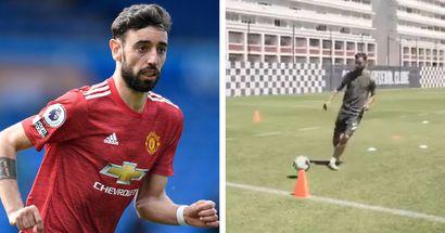 Bruno trains with former club Boavista ahead of return to United