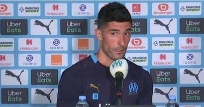 """""""C'est le moins important en ce moment"""": Alvaro Gonzalez refuse de parler de sa prolongation, insiste sur l'Europa League"""