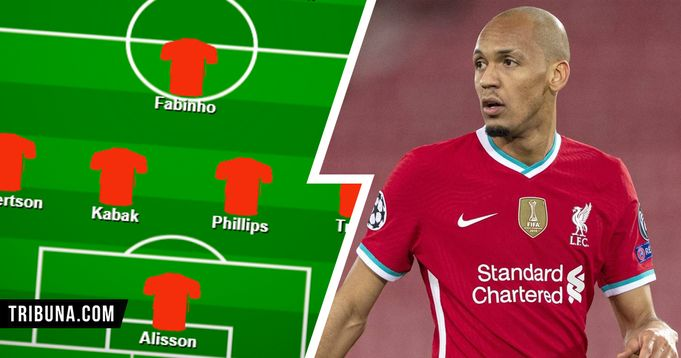 Fabinho in midfield, Kabak-Phillips at centre-back: Liverpool's best XI to attack season run-in