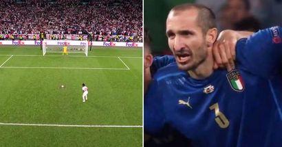 """EXPLICATION: Pourquoi Chiellini a crié """"KIRIKOCHO"""" avant le penalty de Saka et ce que cela signifie"""
