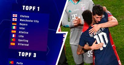 Rache gegen PSG und weitere Optionen: Wer kann Bayerns Gegner in der UCL 2021/22 werden
