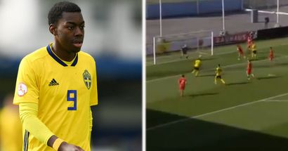 Elanga scores another goal in second International appearance for Sweden U21s