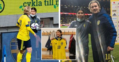 Belohnung für Zeitspiel? Ballmädchen bekommt Trikot des Schweden-Stars Forsberg
