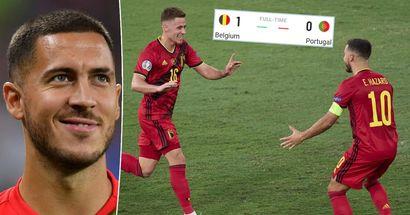 """Thorgan Hazard dit qu'Eden mérite le prix """"homme du match"""" contre le Portugal - 7 statistiques qui le prouvent"""