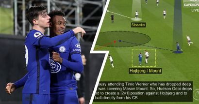 How Chelsea brilliantly using central areas to create attacks - explained by fan