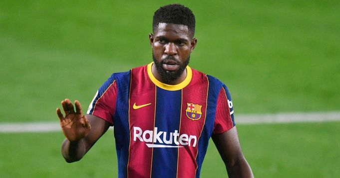 Barca ready to let Samuel Umtiti leave for free next summer (reliability: 3 stars)