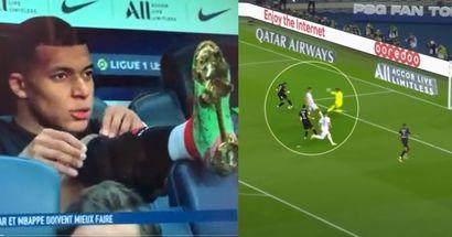 ¿Mbappé tiene razón?: La inexplicable acción de Neymar delante de la portería