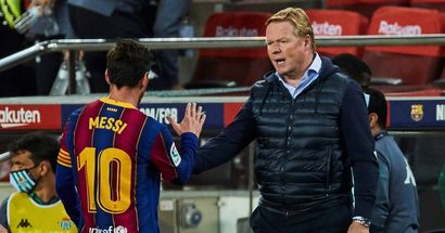 Ronald Koeman: 'Messi has disguised everything wrong at Barca. Now that he's gone, we are suffering'