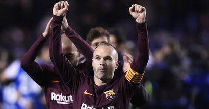 إنييستا: أتذكر فوزي بلقب الدوري الأخير مع برشلونة وكأنه حدث يوم أمس