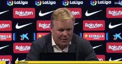 Does Barca still play tiki-taka? Koeman answers