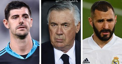 Courtois, Benzema & more: 7 players Ancelotti has used the most this season