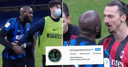 """""""Siamo tutti giocatori, alcuni migliori di altri"""". Zlatan risponde alle accuse di razzismo dopo lo scontro con Lukaku"""