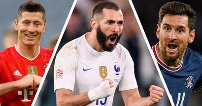 Benzema en 4 lugar: los jugadores con más contribuciones de gol en 2021