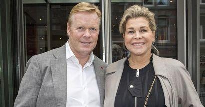 La vez que la esposa de Ronald Koeman usó Twitter para dirigirse a los críticos del neerlandés
