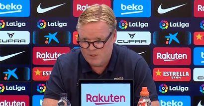 Koeman nomme une condition pour qu'il quitte le Barça de son plein gré