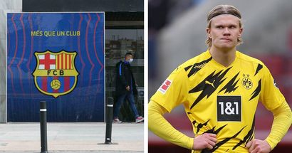 """Barca nimmt Abstand von Erling Haaland: """"Zuerst müssen wir die Heimmannschaft füttern!"""""""