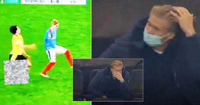 Erling Haaland war geschockt, nachdem er die schreckliche Verletzung seines Dortmund-Teamkollegen gesehen hatte