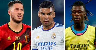 Hazard, Casemiro and more: Real Madrid's injury updates