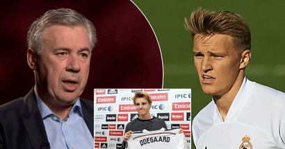 'PR exercise' or 'recruit for the future'? What Carlo Ancelotti actually said of Martin Odegaard's move to Real Madrid in 2016