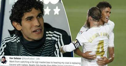 'Que comience la era de las bromas': los fanáticos reaccionan ante la posibilidad de que Vallejo reemplace a Ramos y Varane
