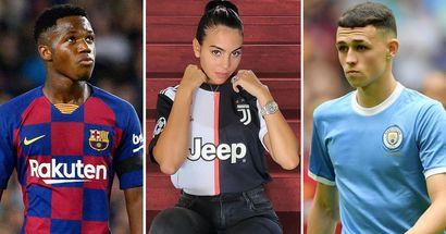 10 futbolistas famosos que ganan menos que la novia de Cristiano