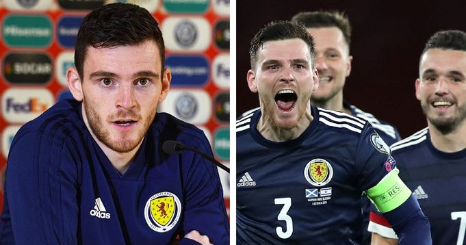 'We're still not as respected as we'd like': Robertson speaks out ahead of England vs Scotland