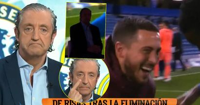 Pro-Madrid host spits venom at Eden Hazard in one of most ridiculous TV scenes possible