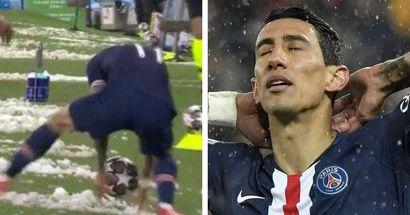 Angel Di Maria a craqué! le Parisien prend un carton rouge contre Man City alors qu'il se trouve en dehors du terrain