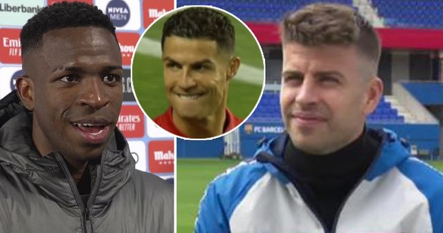 'Cristiano left him a space to fill': Pique on Vinicius' Real Madrid spell