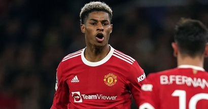 Marcus Rashford 'optimistic' of being fit for Liverpool game despite injury concern