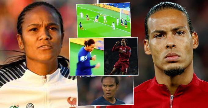 """Wendie Renard è la versione femminile di VVD"""": i tifosi individuano delle assurde somiglianze tra le due stelle del calcio"""