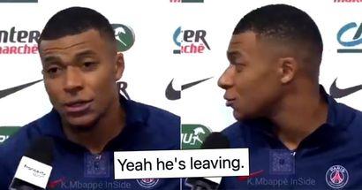 L'intervista controversa di Kylian Mbappe dopo aver vinto la coppa di Francia fa pensare ai tifosi che lascerà il PSG quest'estate