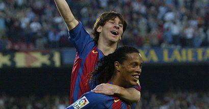 Se cumplen 15 años del primer gol de Messi