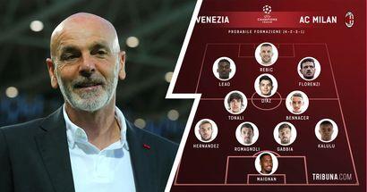 Milan vs Venezia, probabili formazioni e ultime notizie: ancora problemi per Giroud, Rebic al centro dell'attacco