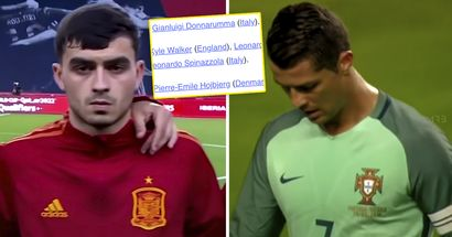 Pedri in, Ronaldo out: UEFA unveil Euro 2020 Team of the Tournament