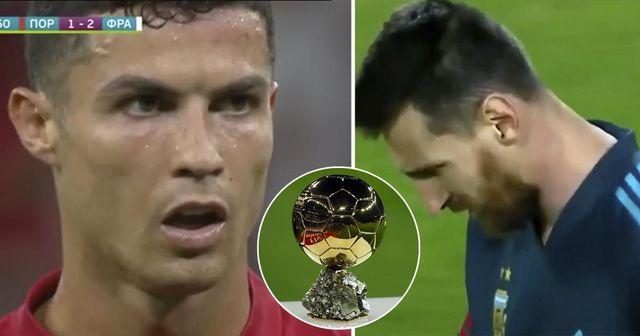 Messi deuxième, Cristiano grimpe sur la liste: classement potentiel du Ballon d'Or